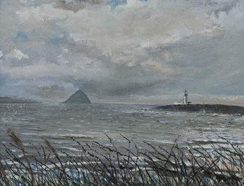 Ailsa Craig from Arran, 2007, Festmény reprodukció