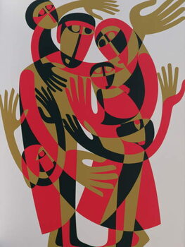 All Human Beings are Born Free and Equal in Dignity and Rights, 1998 Festmény reprodukció