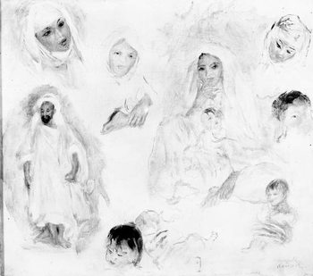 Arabs, 1881-82 (oil on canvas) Festmény reprodukció