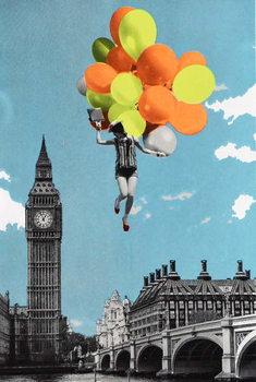 Balloons, 2017, Festmény reprodukció