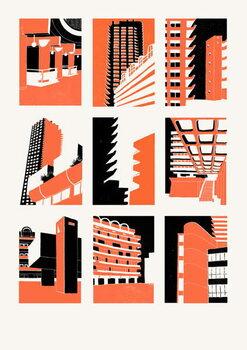 Barbican Festmény reprodukció