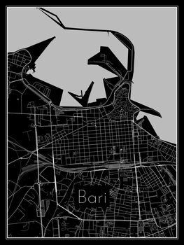 Bari térképe