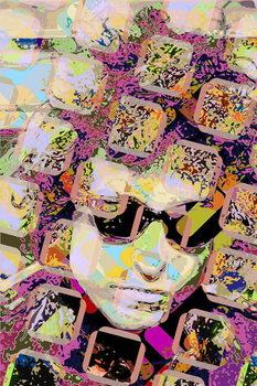 Bob Dylan Festmény reprodukció