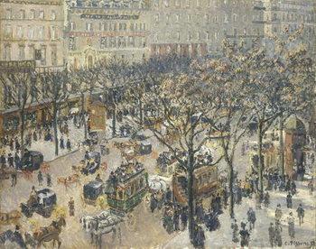 Boulevard des Italiens, Morning, Sunlight, 1897 Festmény reprodukció