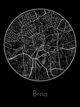 Brno térképe