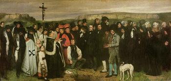 Burial at Ornans, 1849-50 Festmény reprodukció