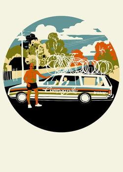 Campagnolo Team Car, 2013 Festmény reprodukció