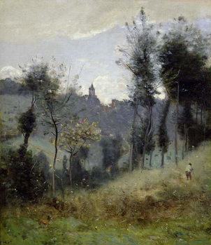 Canteleu near Rouen Festmény reprodukció