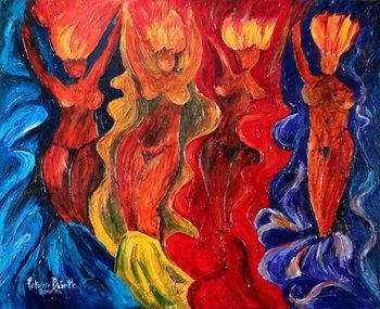 Carnavalesque, 2010 Festmény reprodukció
