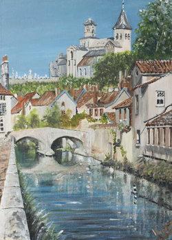 Chattillons sur Seine, France, 2007, Festmény reprodukció