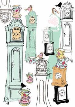 Clocks, 2013 Festmény reprodukció