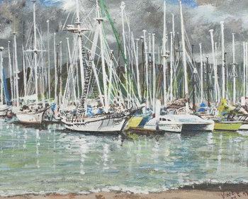Coffs Harbour, Australia, 1998, Festmény reprodukció