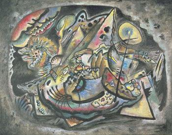 Composition: The Grey Oval, 1917 Festmény reprodukció