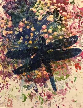 Dragonfly Festmény reprodukció