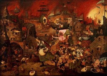 Dulle Griet (Mad Meg) 1564 Festmény reprodukció