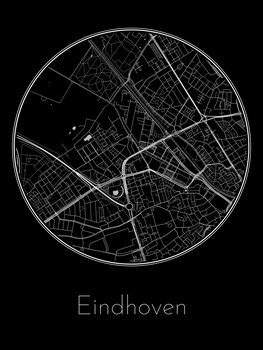 Eindhoven térképe