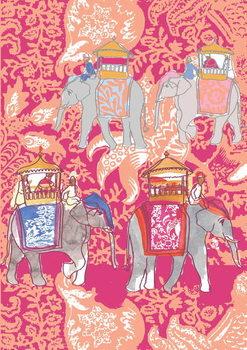 Elephants, 2013 Festmény reprodukció
