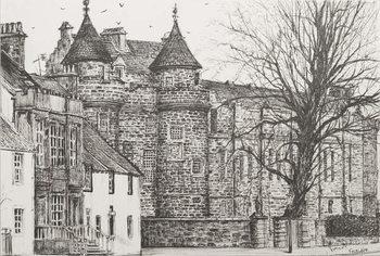 Falkland Palace, Scotland, 200,7 Festmény reprodukció