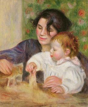 Gabrielle and Jean, c.1895-6 Festmény reprodukció