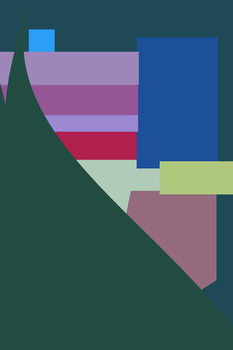 Hotel in the mountains,2016, Festmény reprodukció