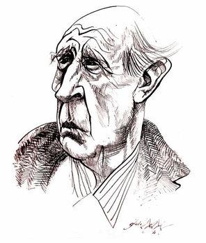 J R R  Tolkien Festmény reprodukció