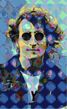 John Lennon Festmény reprodukció