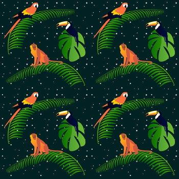 Jungle Fever Festmény reprodukció