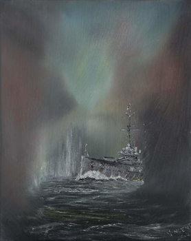 Jutland May 31st 1916, 2014, Festmény reprodukció