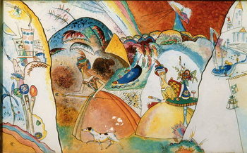 Ladies in a Landscape, 1918 Festmény reprodukció