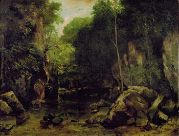 Le Puits-Noir, Doubs Festmény reprodukció