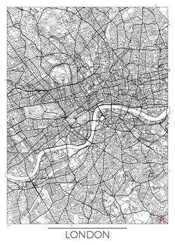 London térképe