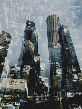Metropolis III Festmény reprodukció