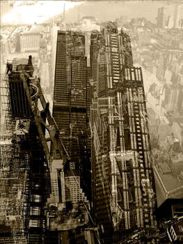 Metropolis V Festmény reprodukció