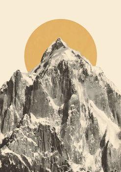 Mountainscape 5 Festmény reprodukció
