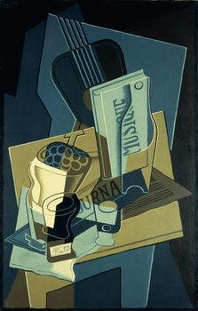 Music Book; Le Cahier de Musique, 1922 Festmény reprodukció