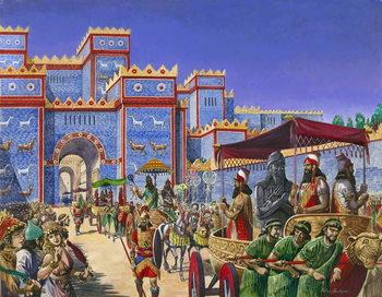 New Year's Day in Babylon Festmény reprodukció
