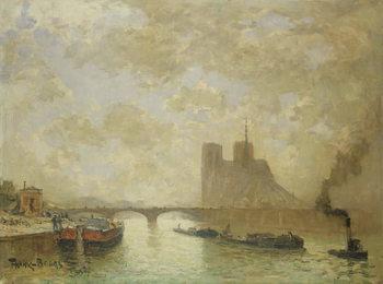 Notre Dame, Paris Festmény reprodukció