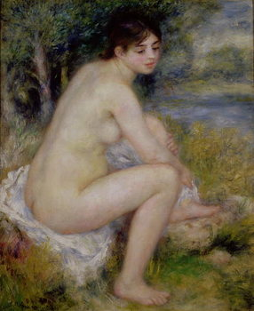 Nude in a Landscape, 1883 Festmény reprodukció