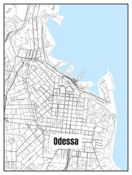 Odessa térképe