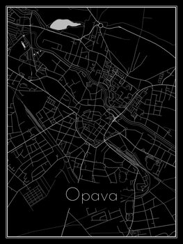 Opava térképe