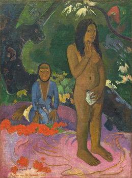 Parau na te Varua ino (Words of the Devil), 1892 Festmény reprodukció