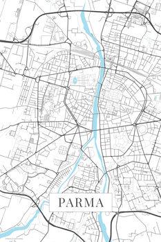 Parma white Térképe