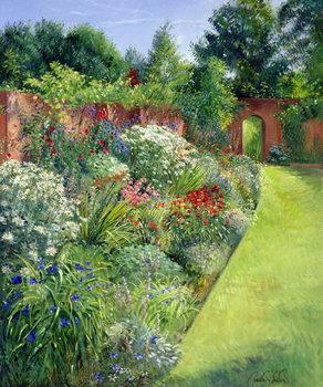Path to the Secret Garden Festmény reprodukció