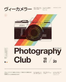 Photography Club Festmény reprodukció