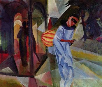 Pierrot, 1913 Festmény reprodukció