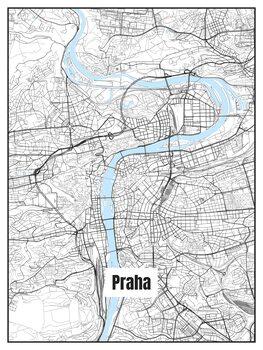 Praha térképe