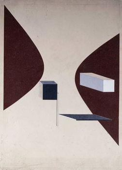 Proun N 90 (Ismenbuch), 1925 Festmény reprodukció
