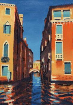 Rio del Duca, Venice Festmény reprodukció