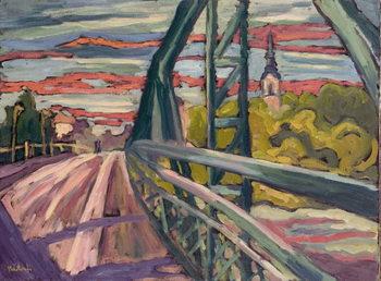 Road to my Town, 2004 Festmény reprodukció