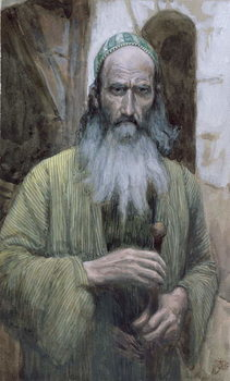Saint Paul, illustration for 'The Life of Christ', c.1886-94 Festmény reprodukció
